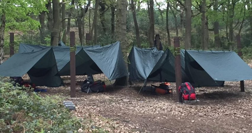 Camping – Bivouac Shelters and Hammocks